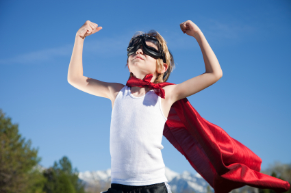 how to build up self confidence in a child
